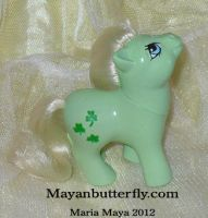 G1 Baby Minty Custom My Little Pony by mayanbutterfly