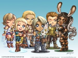Which Final Fantasy Had the Best Storyline? FFXII_Chibi_Wallpaper_by_lcibos