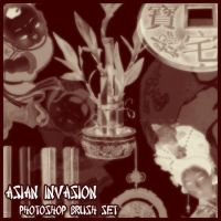Asian Invasion Brush Set by Sunira