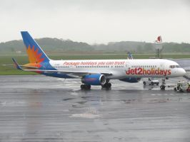 Jet2 at the Gate by InDeepSchit