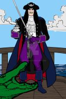 Heromachine: Captain Hook (PPn'P) by ARTIST-SRF