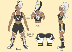 Contest Entry -- Neggy's New Fighting Gear Concept by Ryujisama