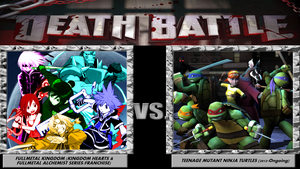Death Battle - FMK VS TMNT by 4xEyes1987
