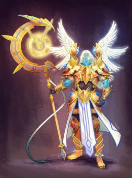 Heavenly Lord of Time Chronos by Xelgot