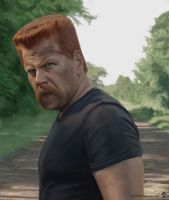 The Walking Dead - Abraham by DesignSpartan