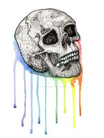 Skull Candy Coating by TheInklingGirl