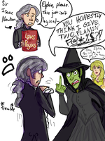 Elphaba Loves Gravity by Lady-Liesl