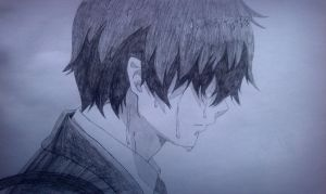 Rin Okumura - Tears Before a Grave by Hollysnow