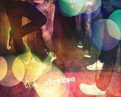 THE STROKES wallpaper by certain-romance