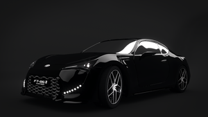 Toyota FT-86 II by sdort-hatred