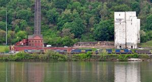 CSX and the Duquesne Incline by jhg162
