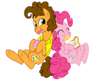 Cheese n Pinkie 2nd Version! by FillyBlue