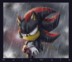 Rain Walk by Phantom--Wolf