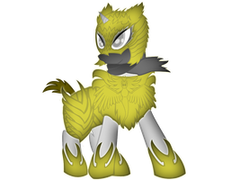 MLP OC: Paladin of Deemura by FlailingFishy