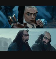 The Hobbit studies by MaxGrecke