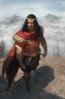 King Conan by Memed