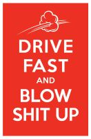 DRIVE FAST AND BLOW SHIT UP by manishmansinh