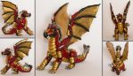 Dragon sculpture by RetardedDogProductns