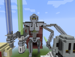 Grievous Statue Finished by BaryMiner