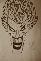 Joker (my brother's drawing) by CansuAkn