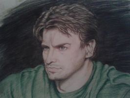 Nathan Fillion by Little-Tuss