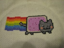 Nyan Cat by Zaraphena