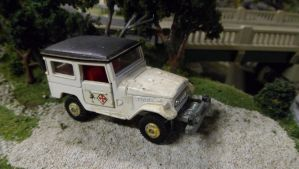 Tomica Toyota Landcruiser by hankypanky68