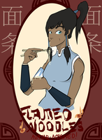 Flameo Noodles by seyrii