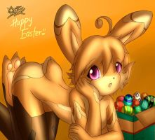 Happy Easter X3 by xenon001