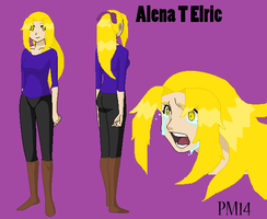 Alena Elric - Final Update by peppermix14