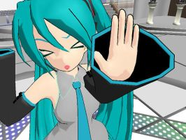 No Pictures Please!--Miku Hatsune by OtakuFestivities