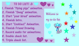To Do List! by PiperMagician