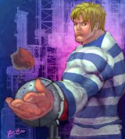 SSFIV's Cody by irongiant775