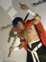 Freakout Photoshoot - Kamina by WhiteLightC