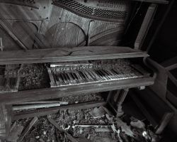 shady lane piano by caust1c