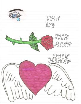 The Eye The Rose The Heart by Jins-girl
