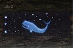 Friendship Bracelet 'Space Whale. Mira B' by releaserevolverenew