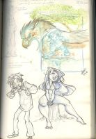 From my Sketchjournal 01 by Sandora
