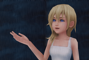 Namine a rainy Day by KHStyler-chan