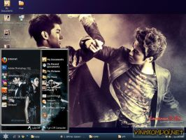 TVXQ-HoMin Theme for Xp by vinhxomdoi