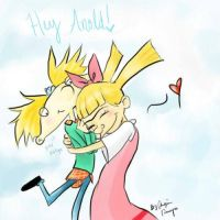 Arnold and Helga by MissRisabella