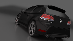 2011 Golf GTI - Final Render 2 by MeshWeaver