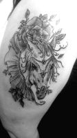 horse by swetattoo