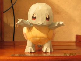 Squirtle Papercraft by x0xChelseax0x