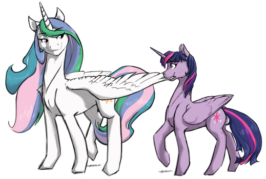 Feather Tug by Geomancing