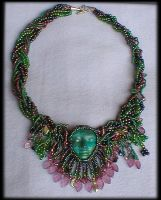 Secret Garden Beaded Necklace by jardan