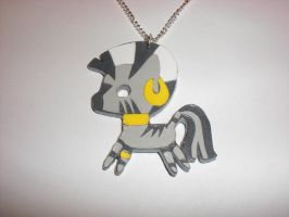 Zecora Paper Pendant by Bunnygirl2190