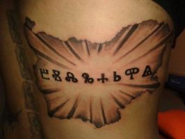 First tattoo made by me by gabchik