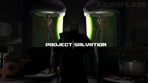 Project|Salvation Cover by OfficialAzurewolf