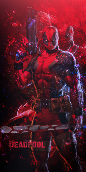Deadpool signage (update) 2013 by Losertry
